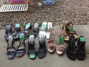 Size 9-10 Heels and boots (20+ pairs)