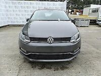 vw polo 2014 2017 complete fronte end grey