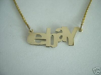 EBAY  Necklace in Sterling Silver