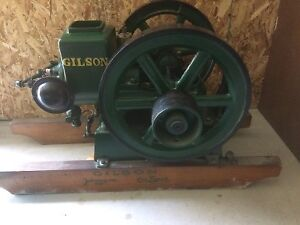 Gilson hit and miss engine