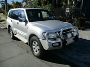 2001 Mitsubishi Pajero NM Exceed LWB (4x4) White 5 Speed Auto Sports Mode Wagon Springwood Logan Area Preview