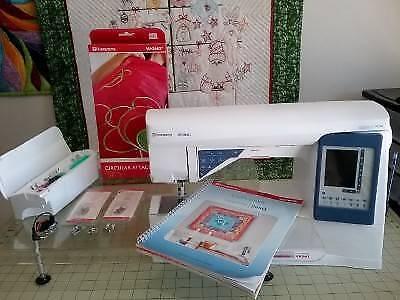 Husqvarna Sapphire 965Q Sewing Machine Plus Extras