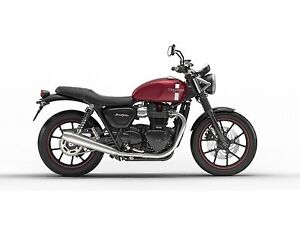 2018 Triumph  Street Twin Cranberry Red