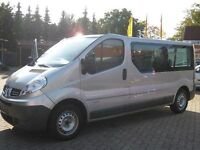 LHD RENAULT TRAFIC LEFT HAND DIVE LL29 9 SEATED 6 SPEED MANUAL 2008 PLATE SAME AS VIVARO