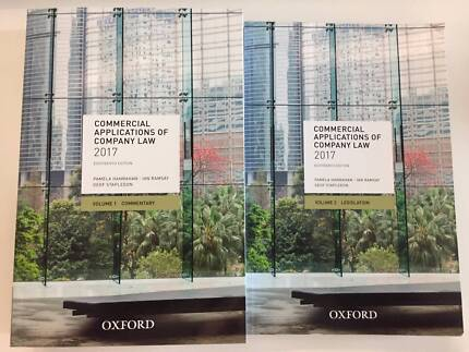 Commercial Applications Of Company Law 2017