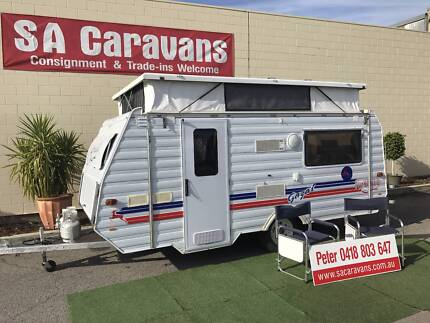 GAZAL INFINITY 15' LOW TOW POP TOP CARAVAN