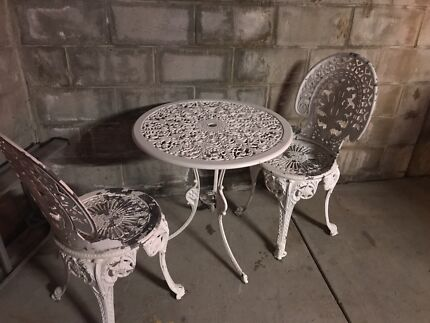 Old Vintage Cast Iron Bench Seat  Other Furniture  Gumtree