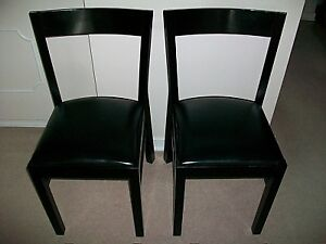 2xBlack Ikea Roger Dinning Chair & Ikea Chair | Buy or Sell Chairs u0026 Recliners in Edmonton | Kijiji ...