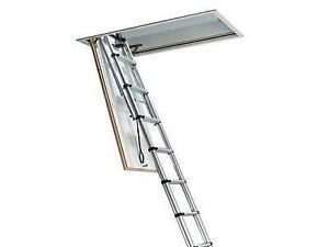 telescopic loft ladders