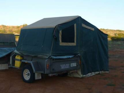 9ft Trailer Tent & Maggiolina Roof top tent | Camper Trailers | Gumtree Australia ...
