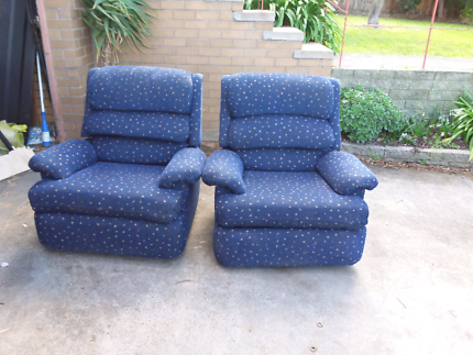 Blue Armchair(s) Hamlyn Heights Geelong City Preview Part 64