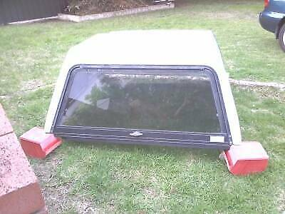 Holden Rodeo 2001 Chieftain White Fibreglass Canopy & canopy for dual cab in Perth Region WA   Parts u0026 Accessories ...