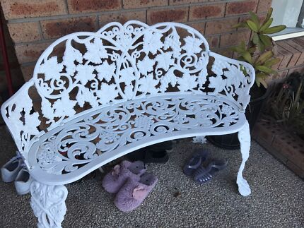 cast iron table and chairs  Outdoor Dining Furniture  Gumtree