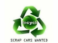 SCRAP CARS WANTED - NON RUNNERS - DAMAGED - NO KEYS OR LOGBOOK REQUIRED - SHEFFIELD