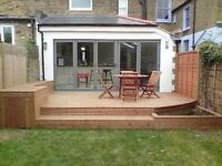 All landscape carpentry needs. Fencing, deckings and outbuildings.