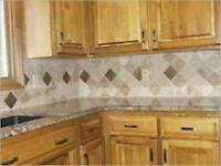 Flooring,tiles and backsplash