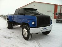 gmc topkick c6500 1992 pick up projet