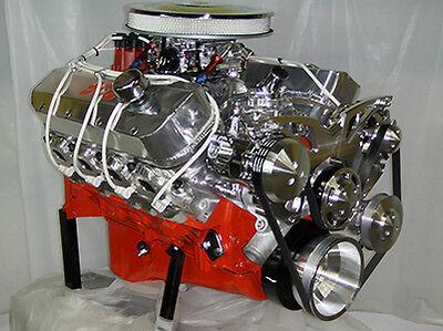 Big Block Chevy 502 BBC Turn Key Engine 600HP, H-Beam, Forged Pistons
