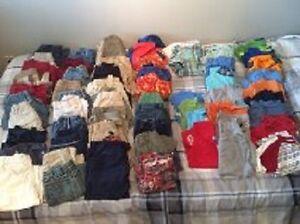 Lot 61 morceaux vêtements garçon gars 2-3 ans été