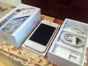 Unlocked iPhone 4S, white, immaculate condition