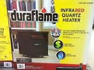 1,500 Watt Portable Electric Infrared Cabinet Heater by Duraflam