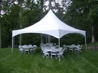 TENT RENTAL 20'X20'X9' FRAME $250 WED TO SUN AM (204) 229-3266
