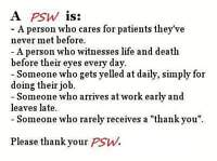 Are You Looking For A PSW?