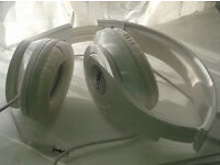 Coby Over-Ear Folding Headphones - white colour and looks like the Beats by Dr. Dre. if not better