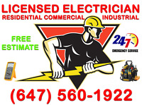 Licensed & Insured ( Electrician & HVAC-GAS )>>>>Free Estimate