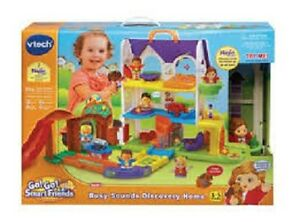 Vtech - Go! Go! Smart Friends Busy Sounds Discovery Home - Engli