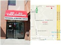 **20/20 TAILORING BY Fang**SW Calgary,(403)640-4422