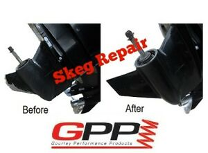 Boat Gear Case Skeg Repair