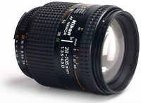 Nikon 28-105mm 3.5-4.5D Macro Lens.  Includes two filters.