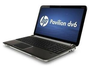 HP  Pavilion dv6-6c35dx -6GB RAM - 250 GB HDD - AMD A8 - 3520M 1.6GHz - Windows 8.1