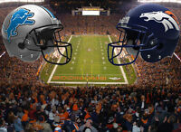 $300 ~ 2 NFL Tickets Detroit Lions vs Denver Broncos SNF ~ $300