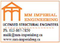 Licensed Structural Engineers - Pembroke and Suburbs