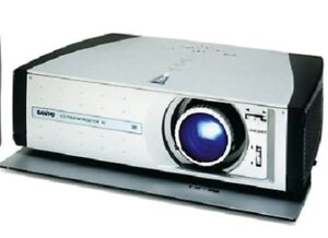 sanyo plvz2 theater projector as is