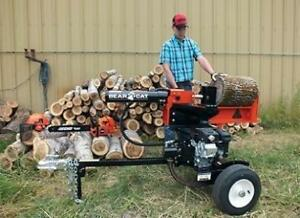 Wood Splitters On Sale at CR Equipment!