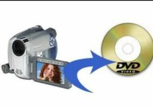 Service for creating DVD from movie files of camcorders/phones