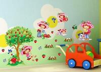 Strawberry shortcake wall stickers