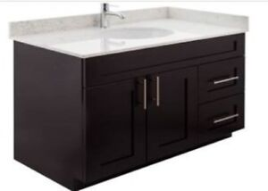 ESPRESSO Solid wood maple vanities on WAREHOUSE CLEARANCE!!!!