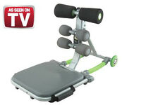 wonder total core abs & sit-up exercise machine