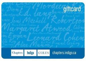 Chapter/Indigo/Coles Gift Card for trade ($800 worth)
