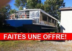 Bateau transporteur à vendre: Le Gouverneur (50 PASSAGERS)!