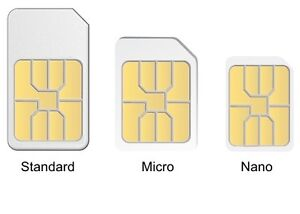 NEW SIMS, ONLY HAVE PROVIDER FOR TELUS , BELL , KOODO, PC MOBILE