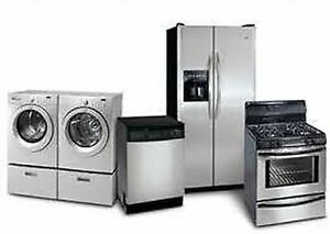 Appliance Repair Services – Refrigerator, Dishwasher & Washer