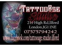 TattooAge Studio Ilford. Tattoo & Piercing