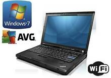 Ex-Government Laptop Lenovo/IBM R500 15.4 Inch Screen, CORE 2 DUO Annerley Brisbane South West Preview