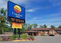Housekeeper needed- Comfort Inn Lakeshore