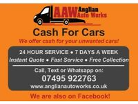 CASH FOR CARS - We Buy Any Car - Scrap Car - Junk Car - Sell Car - Used Car - Recovery - Towing